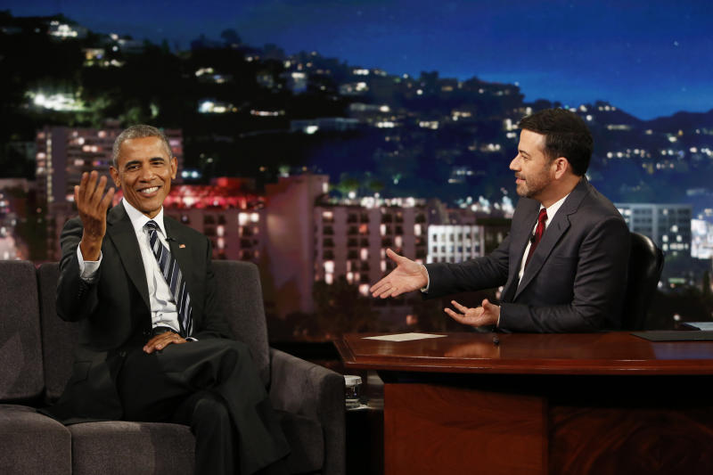 President Barack Obama Reads Means Tweets on 'Jimmy Kimmel'