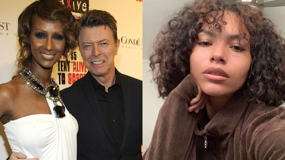 David Bowie and Iman's daughter, Lexi Jones, is taking a stand against online bullies. (Image via Getty Images/Instagram/_P0odle_)