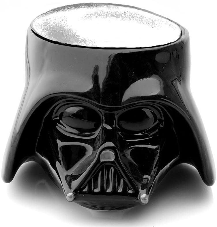 <p>Just in case anyone didn't know not to bother you before you've had a mug or two of coffee, they'll be sure of it once you stroll into work holding this <span>Star Wars Darth Vader Ceramic Mug</span> ($22).</p>
