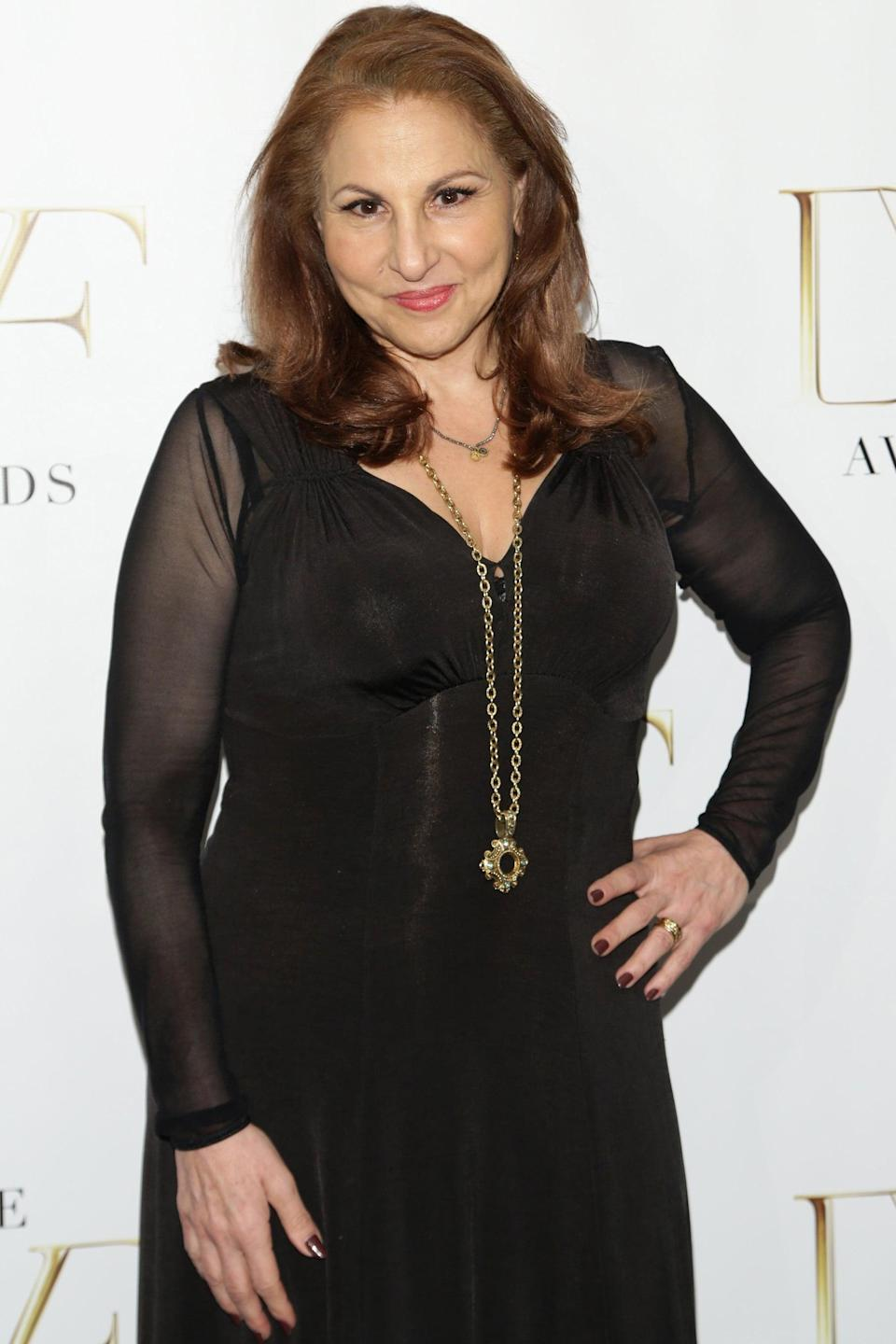 """<p>Kathy Najimy has continued to work in film and TV since <strong><a class=""""link rapid-noclick-resp"""" href=""""https://www.popsugar.co.uk/Hocus-Pocus"""" rel=""""nofollow noopener"""" target=""""_blank"""" data-ylk=""""slk:Hocus Pocus"""">Hocus Pocus</a></strong>, starring in projects such as 2001's <strong>Rat Race</strong> and completing stints on <strong>Veep</strong> and <strong>Unforgettable</strong>. She's also lent her voice to a number of cartoons, including <strong>King of the Hill</strong>, in which she voices Peggy, and the Netflix hit <strong>BoJack Horseman</strong>.</p>"""