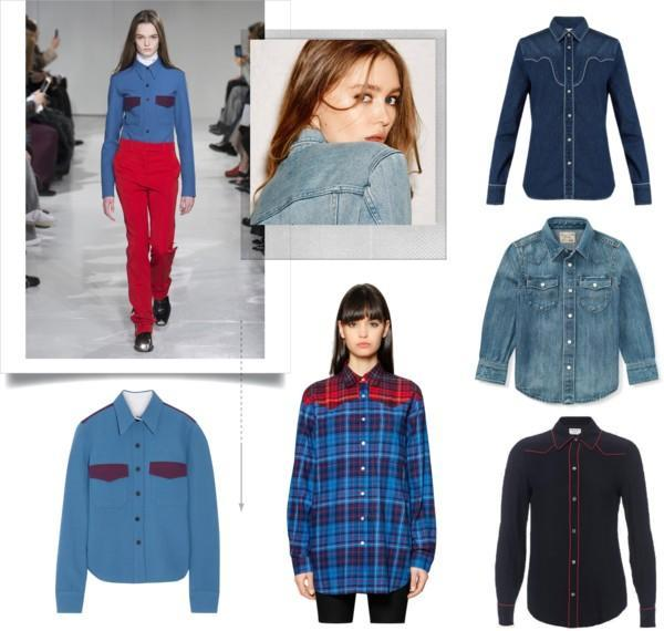 Western Shirt Inspiration from Calvin Klein 205W39NYC