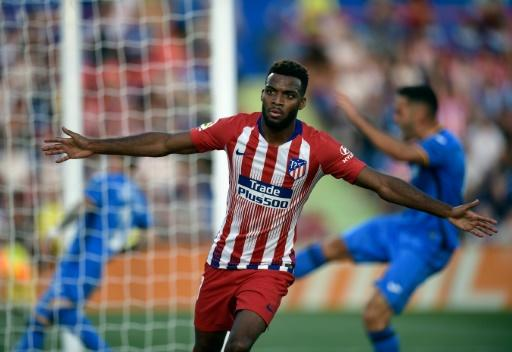 Thomas Lemar bagged his first goal for Atletico Madrid following his move from Monaco