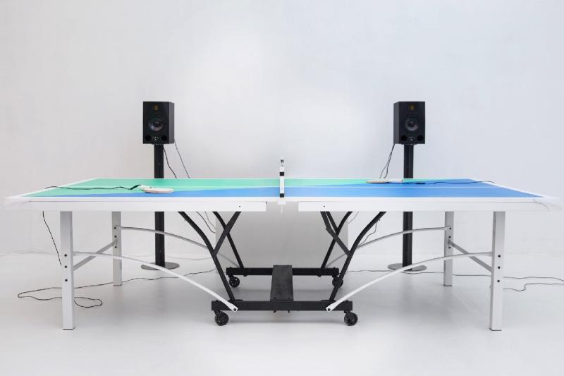 Arduino-powered ping pong table play music to match the intensity of your game