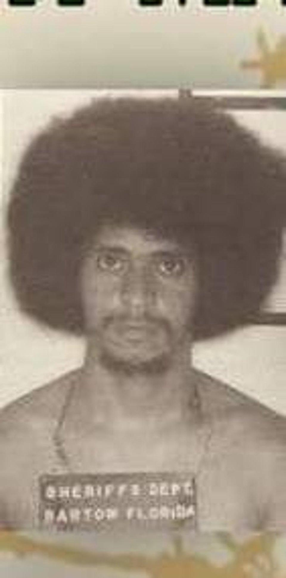 A juror said that a photo of Juan Melendez with an afro convinced her he was guilty, sending him to death row for a crime he didn't commit. (Courtesy of Judi Caruso)
