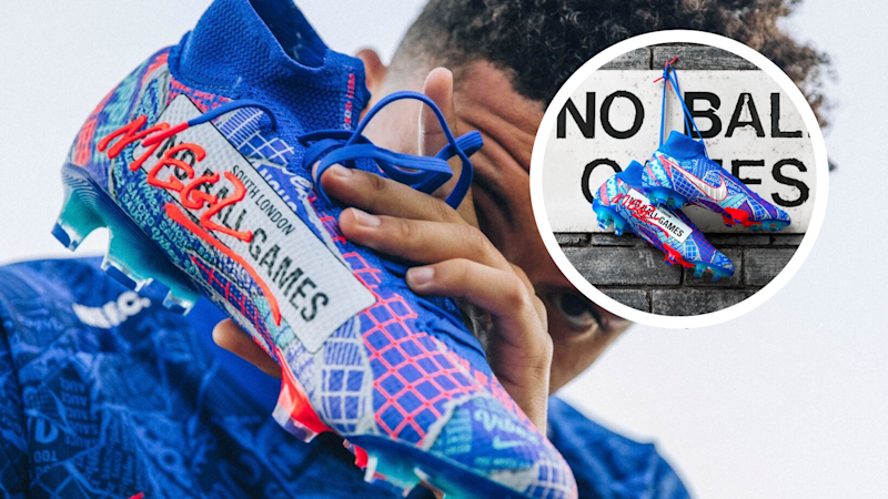 Sancho makes dream come true with new football boots inspired by his London upbringing