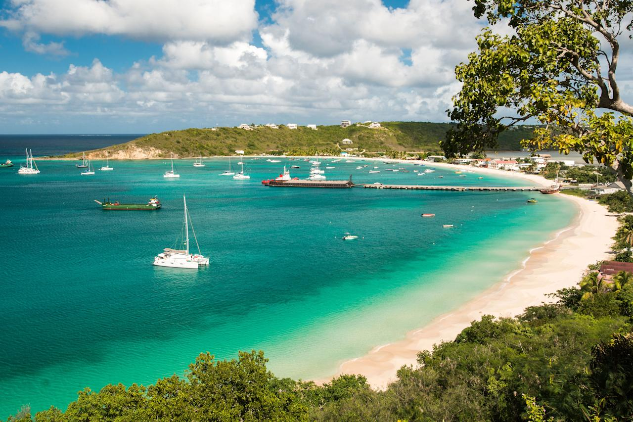 """As flat as a pancake, this British Overseas Territory just north of <a href=""""https://www.cntraveler.com/gallery/this-is-the-best-caribbean-island-for-you?mbid=synd_yahoo_rss"""" target=""""_blank"""">St. Maarten</a> has come to be known as the place to really get away from it all—and not do much once you're there. Shoal Bay, the island's <a href=""""https://www.cntraveler.com/gallery/beaches-that-will-make-you-forget-about-winter?mbid=synd_yahoo_rss"""">most famous beach,</a> is the best place to do either nothing or something, with soft sand, clear waters, non-touristy bars and restaurants, and private resorts that help you get beach without the crowds. An offshore reef is ideal for <a href=""""https://www.cntraveler.com/galleries/2015-02-24/top-10-island-beaches-for-swimming-and-snorkeling?mbid=synd_yahoo_rss"""">snorkelers and divers</a> of all levels."""