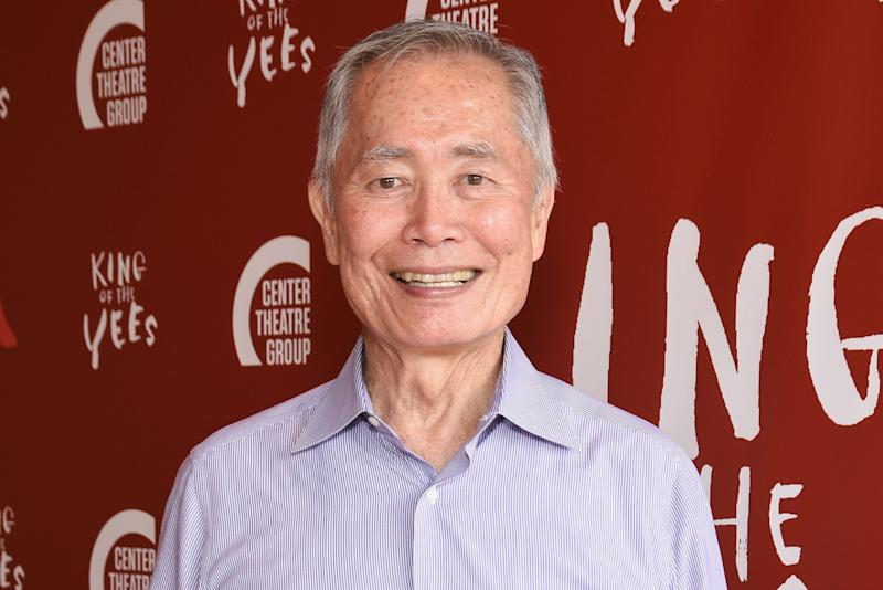 A former model who accused George Takei (above) of sexual assault saysthe New York Observer mischaracterized comments he made recently about the incident.