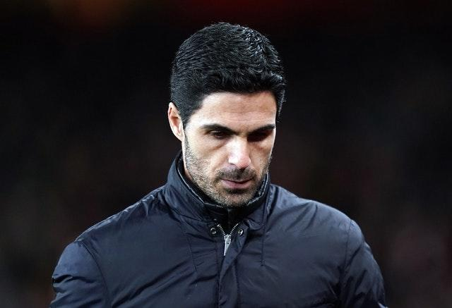 Arsenal manager Mikel Arteta says he is feeling better after contracting coronavirus