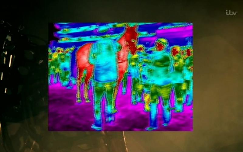 Infrared - Credit: ITV Racing
