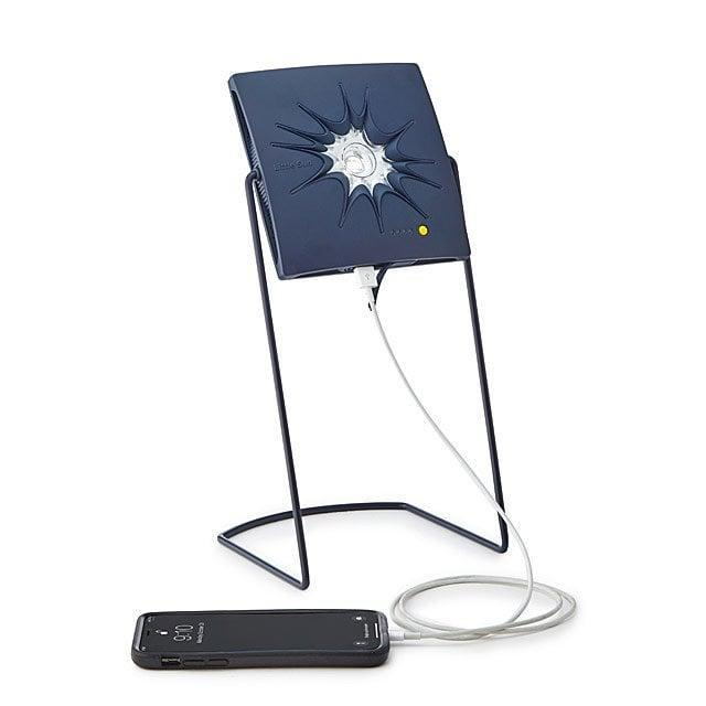 """<p>He'll never ask to borrow your charger again if you give him the <a href=""""https://www.popsugar.com/buy/Little-Sun-Solar-Light-Charger-400103?p_name=Little%20Sun%20Solar%20Light%20and%20Charger&retailer=uncommongoods.com&pid=400103&price=79&evar1=news%3Aus&evar9=36026397&evar98=https%3A%2F%2Fwww.popsugar.com%2Fnews%2Fphoto-gallery%2F36026397%2Fimage%2F45606080%2FLittle-Sun-Solar-Light-Charger&list1=gifts%2Choliday%2Cgift%20guide%2Cdigital%20life%2Ctech%20gifts%2Cgifts%20for%20men%2Cgifts%20under%20%24100&prop13=api&pdata=1"""" class=""""link rapid-noclick-resp"""" rel=""""nofollow noopener"""" target=""""_blank"""" data-ylk=""""slk:Little Sun Solar Light and Charger"""">Little Sun Solar Light and Charger</a> ($79), which brings battery to any device without any source of electricity involved.</p>"""