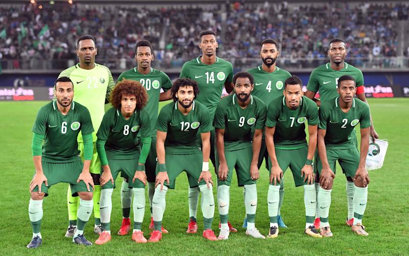 Saudi Arabia will play in their first World Cup since 2006 - AFP or licensors