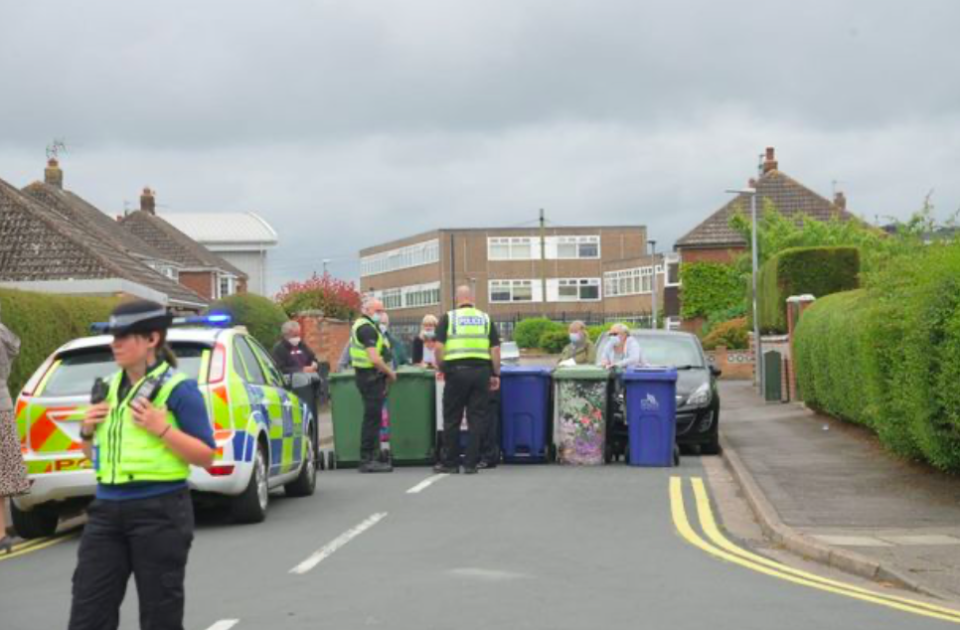 Residents on Halton Place in Cleethorpes, Lincolnshire, say they have had enough of parents parking across their driveways. (Reach)