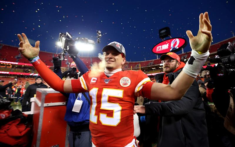 Patrick Mahomes starred once again for the Kansas City Chiefs - Getty Images North America