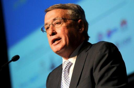 Australian Treasurer Wayne Swan (pictured in March) was Tuesday set to deliver the nation's toughest budget in 25 years, bringing its high-powered mining economy back to surplus in the face of global turmoil. The budget Swan hands down is expected to turn around a deficit of at least Aus$37.1 bln from the current financial year 2011-12 to a $1.5 bln surplus in 2012-13