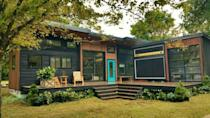 """<p>This tiny house is a musician's dream: It houses a giant working amp and the deck even doubles as a stage.</p><p><a class=""""link rapid-noclick-resp"""" href=""""https://www.countryliving.com/home-design/house-tours/a42396/amplifier-tiny-home-tour-arkansas/"""" rel=""""nofollow noopener"""" target=""""_blank"""" data-ylk=""""slk:SEE INSIDE"""">SEE INSIDE</a></p>"""