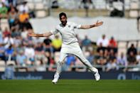 <p>In their last 7 overseas Tests, India have bowled out the opposition 12 times. India's pace attack of Ishant Sharma, Mohammad Shami and Jasprit Bumrah is now giving the opposition a taste of their own medicine. </p>