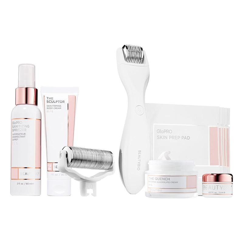 BeautyBio GloPRO Microneedling Regeneration Head-to-Toe Glo Set. (Photo: Nordstrom)