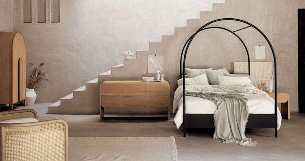 PHOTO: Canyon Arched Canopy Bed from Crate and Barrel. ( Crate and Barrel)