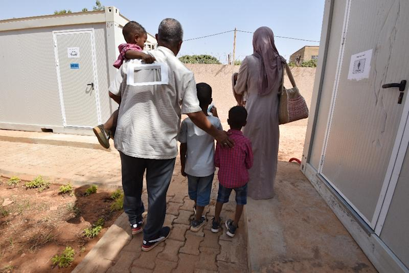 The UN refugee agency has evacuated refugees from Libya to Niger. It is appealing for countries to take in a further 1,300 vulnerable migrants at risk of abuse in the north African country (AFP Photo/Sia KAMBOU)