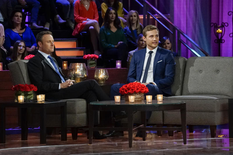 """Peter Weber appears on the """"Women Tell All"""" episode of Season 24 of """"The Bachelor. (Photo: Getty Images)"""
