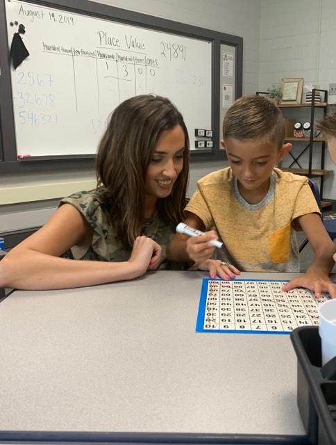 Texas teacher Richelle Terry says she will not be assigning students math homework this year so they have more time to spend with their families. (Credit: Richelle Terry)