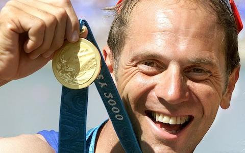 <span>Sir Steve Redgrave has been a source of inspiration for Hannah McCook</span> <span>Credit: AFP </span>