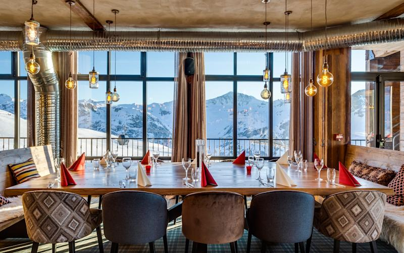 At 2,551m, La Refuge de Solaise in Val d'Isere sits higher than any other hotel in France - www.christophehassel.com chris@christophehassel.com