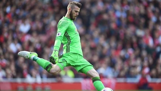 <p>Firmly in the conversation for best goalkeeper in the world, David de Gea had another great season in 2016/17. De Gea had 14 clean sheets in the league, which despite being less than Chelsea stopper Thibaut Courtois, saw him voted into the Premier League Team of the Season. </p> <br><p>De Gea is a goalkeeper that is getting better every season, and this will see his rating increased from 90 to 91</p>