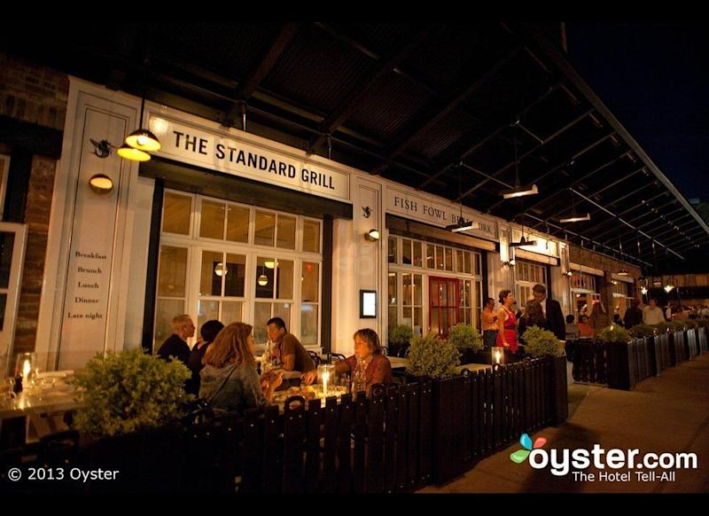 Situated Under The High Line In Trendy Meatng District Standard Grill Has Remained