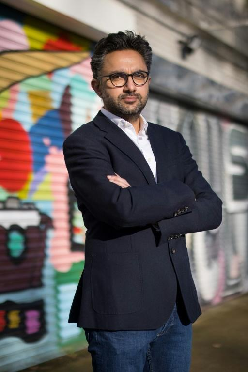 British author Sathnam Sanghera calls the statue of Robert Clive outside the Foreign, Commonwealth and Development Office in central London 'degrading'