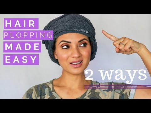 "<p>The second biggest game-changer for getting volume on fine, thin, curly hair? <a href=""https://www.cosmopolitan.com/style-beauty/beauty/a25400845/how-to-plop-curls/"" rel=""nofollow noopener"" target=""_blank"" data-ylk=""slk:Plopping"" class=""link rapid-noclick-resp"">Plopping</a>. Plopping is technique that uses a <a href=""https://www.amazon.com/Gildan-Cotton-Jersey-Sleeve-Medium/dp/B00GJBI7JU/ref=sr_1_8?crid=24U1MHMCXIWBO&dchild=1&keywords=cotton+long+sleeve+shirt+men&qid=1619628648&sprefix=cotton+lon%2Caps%2C283&sr=8-8"" rel=""nofollow noopener"" target=""_blank"" data-ylk=""slk:T-shirt"" class=""link rapid-noclick-resp"">T-shirt</a> to dry your curls in a self-contained mound on top of your head, helping to increase definition and cut down on frizz. Unlike when you twist a towel around your head—which pulls out your curls—<strong>plopping keeps your wet curls compact and scrunched, accordion-style,</strong> so your roots stay volumized, your curls stay clumped, and your hair cuticle stays smooth (thanks to the soft cotton fabric).</p><p><a href=""https://www.youtube.com/watch?v=JmgwtAQig_o&t=37s&ab_channel=DebbieSavage"" rel=""nofollow noopener"" target=""_blank"" data-ylk=""slk:See the original post on Youtube"" class=""link rapid-noclick-resp"">See the original post on Youtube</a></p>"