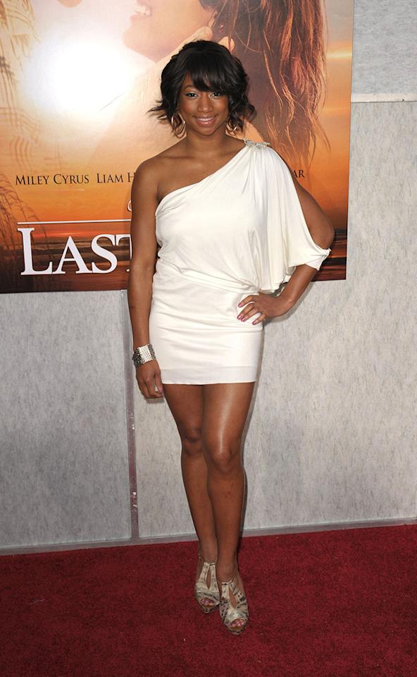 """<a href=""""http://movies.yahoo.com/movie/contributor/1808513410"""">Monique Coleman</a> at the Los Angeles premiere of <a href=""""http://movies.yahoo.com/movie/1810098775/info"""">The Last Song</a> - 03/25/2010"""