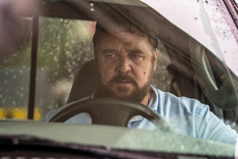 Russell Crowe in a still from Unhinged. (Altitude)