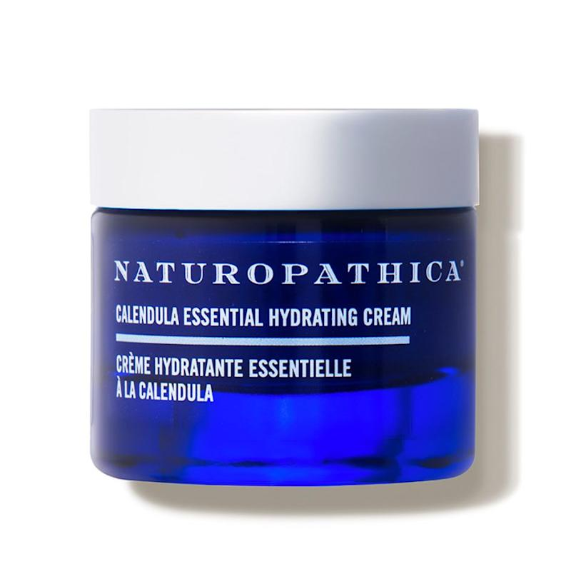 """If you have more of a dry or sensitive skin type, my favorite is the <a href=""https://fave.co/2XACRrM"" target=""_blank"" rel=""noopener noreferrer"">Naturopathica Calendula Essential Hydrating Cream</a>. This potent moisturizer kicks a punch for irritation and soothing while providing anti-aging benefits."" &mdash; <strong>Serron at</strong> <strong>HeyDay</strong>. Find it for $64 at <a href=""https://fave.co/2XACRrM"" target=""_blank"" rel=""noopener noreferrer"">Dermstore</a>."