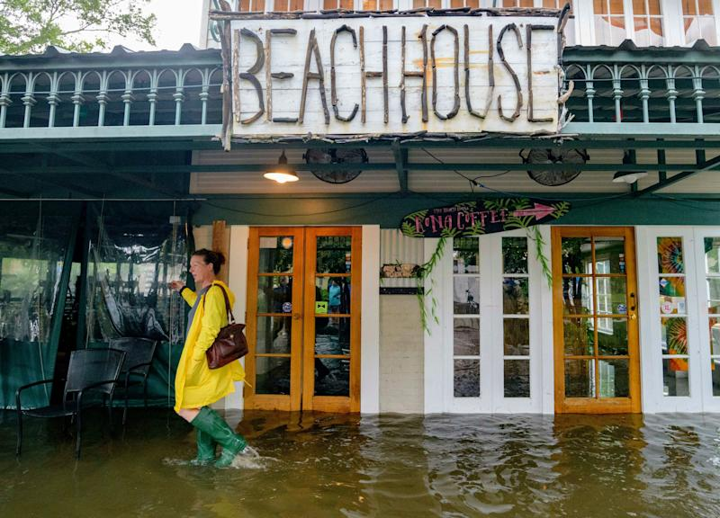 Barry's slow march through Louisiana and into Arkansas leads to fears of flooding, tornadoes