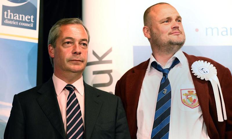 Al Murray with Nigel Farage