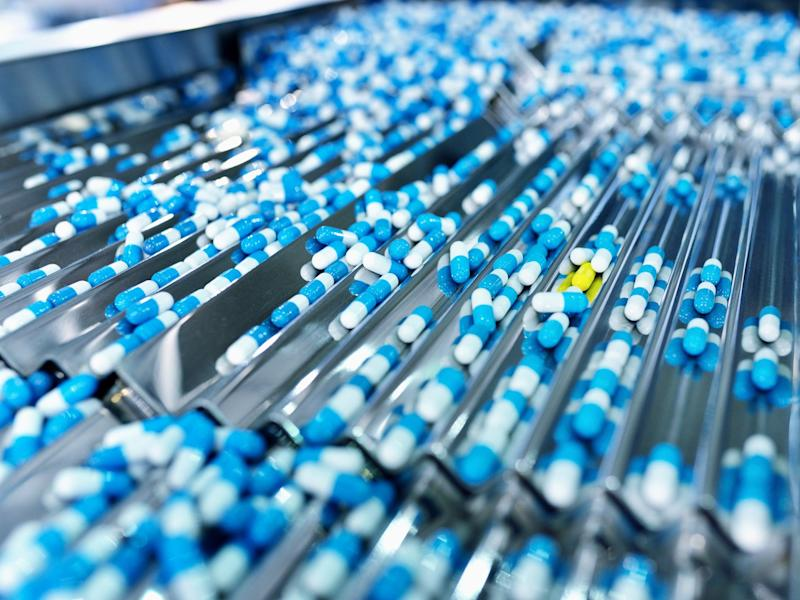 Drugs in production (stock image): Getty Images/iStockphoto