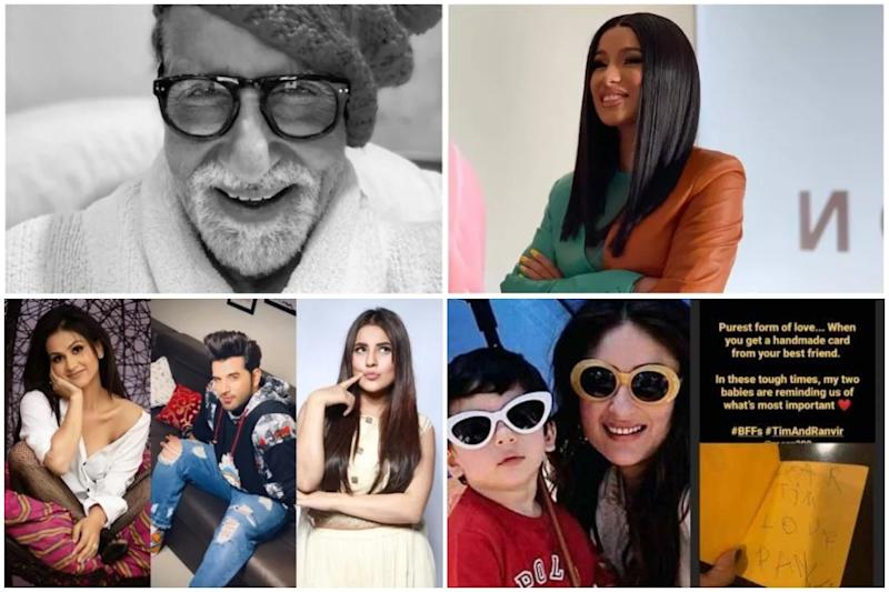 Amitabh Bachchan Slammed for Tweeting Wrong Info, Cardi B Thinks Celebs Testing COVID-19 Positive are Paid