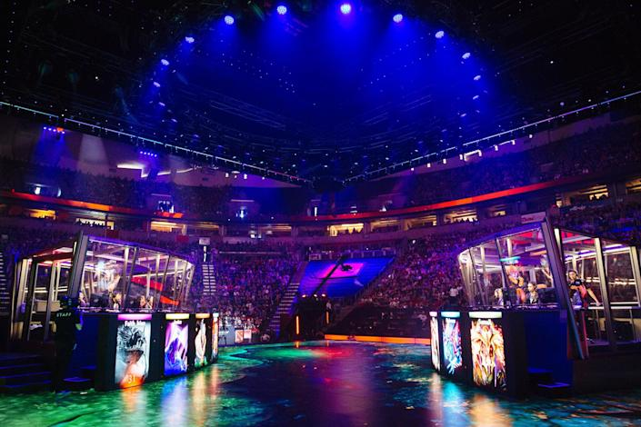 The International 2016 was hosted in Key Arena in Seattle. (Valve)