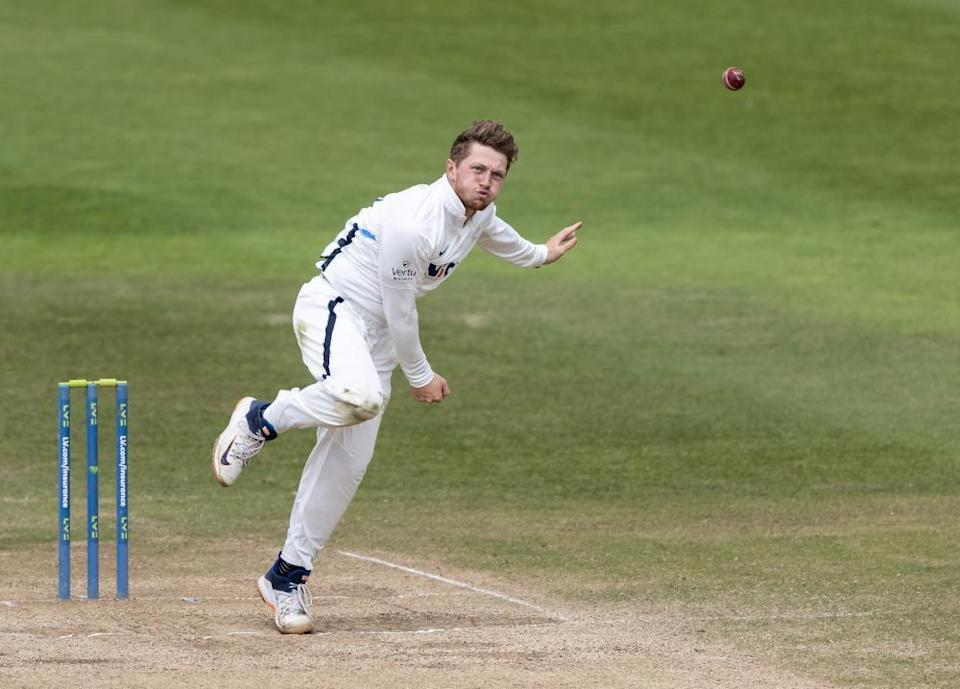 Dominic Bess earns a recall after a fine first half of the season withYorkshire.