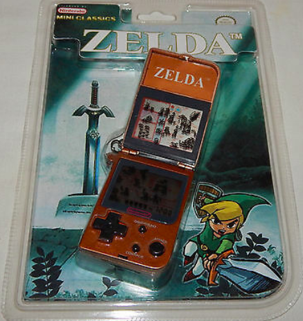 """<p>Nintendo mini classics were the bomb, and Zelda freakin' ruled. You probably paid about $20 for this in 1998, but it's worth around <a href=""""https://www.ebay.com/itm/VINTAGE-1998-NINTENDO-MINI-CLASSICS-ZELDA-LCD-HANDHELD-GAME-WATCH-SEALED-NOS/254275188575?hash=item3b33fb775f:g:6EQAAOSwxbJZfHUE"""" rel=""""nofollow noopener"""" target=""""_blank"""" data-ylk=""""slk:$600"""" class=""""link rapid-noclick-resp"""">$600</a> now so...bye!</p>"""