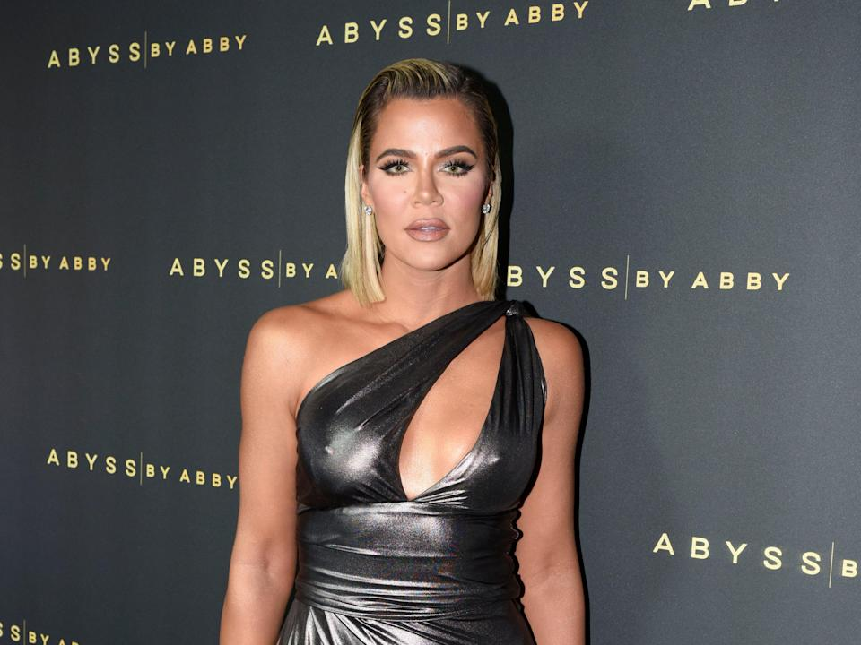 <p>Khloe Kardashian attends a launch party in California</p> (Getty Images for Abyss By Abby)