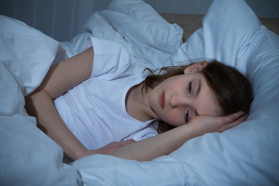 Some children are struggling to sleep due to coronavirus anxiety. (Getty Images)