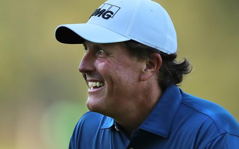 Phil Mickelson spoke candidly about male professionals bending the rules - Atlanta Journal-Constitution