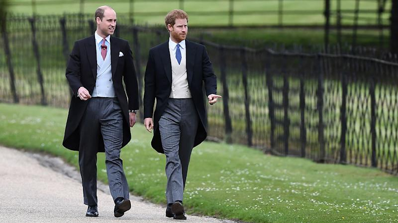 Two future kings attend Pippa's wedding but no sign of Meghan Markle