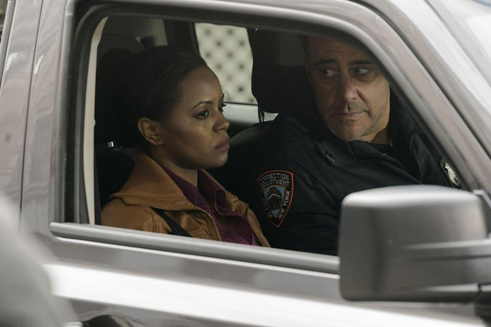 <p>After his <em>Everybody Loves Raymond</em> years, Garrett took on a cop role once more during season 17 of <em>SVU</em>. This portrayal wasn't a laughing matter, however—over two episodes he played Gary Munson, a crooked corrections officer who had been abusing female inmates. When Munson is eventually arrested, he doesn't go quietly, and ends up being partially responsible for the death of Sgt. Mike Dodds.<br></p>
