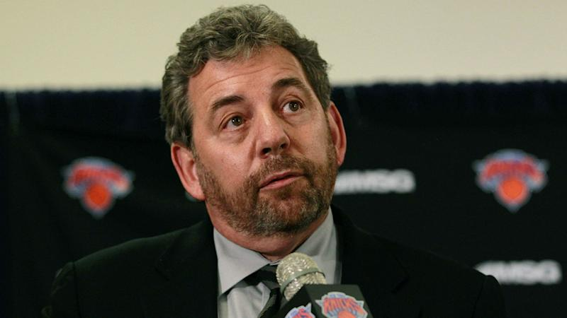 Are Knicks blocking season-ticket holder that James Dolan yelled at?