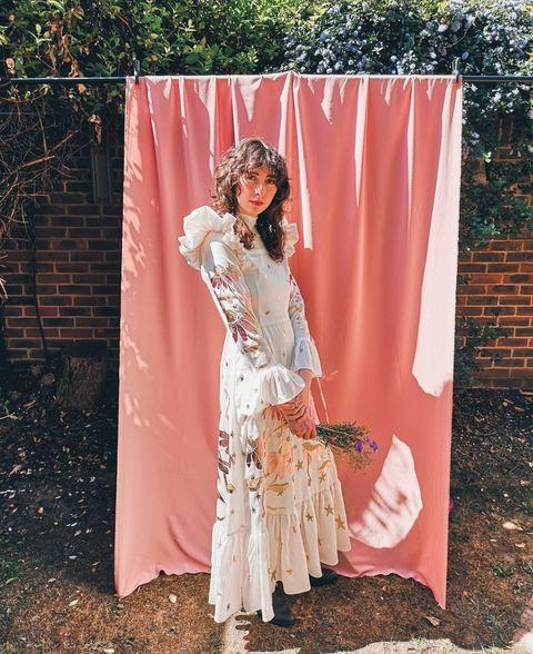 """<p>One for the whimsical, MARY creates and up-cycles magical pieces all with the planet in mind.</p><p>'My main aim with MARY is to use what we already have.' Founder and designer Mary Benson told ELLE UK.</p><p>'I source deadstock fabric and design dresses around each roll, I design prints seasonally and re-print the fabric too, so each design is a really special timeless limited edition to treasure forever. </p><p>'Everything is made to order - we don't make stock for the sake of it.'</p><p><a class=""""link rapid-noclick-resp"""" href=""""https://www.marybenson.london/"""" rel=""""nofollow noopener"""" target=""""_blank"""" data-ylk=""""slk:SHOP MARY BENSON NOW"""">SHOP MARY BENSON NOW</a></p><p><a href=""""https://www.instagram.com/p/B_Mg25lgtws/"""" rel=""""nofollow noopener"""" target=""""_blank"""" data-ylk=""""slk:See the original post on Instagram"""" class=""""link rapid-noclick-resp"""">See the original post on Instagram</a></p>"""