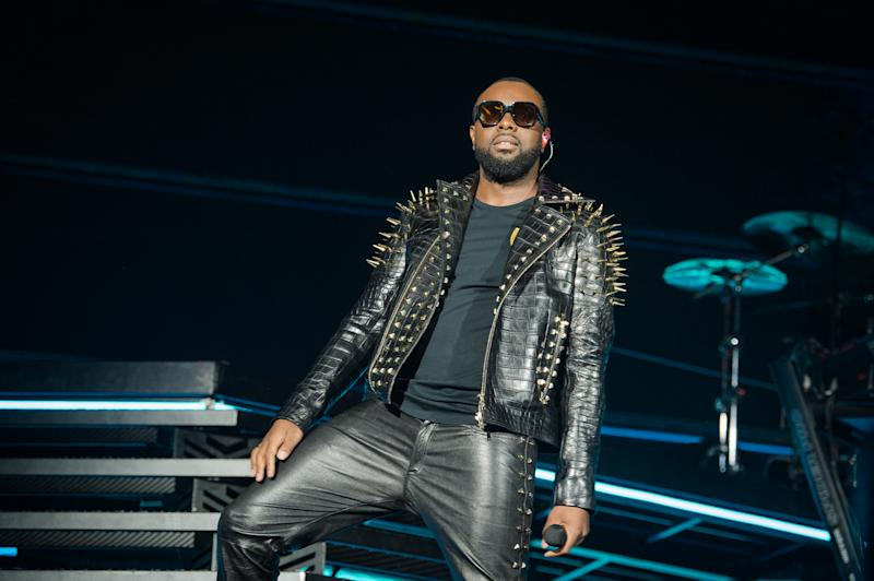 PARIS, FRANCE - SEPTEMBER 28: Gims performs at Stade de France on September 28, 2019 in Paris, France. (Photo by David Wolff - Patrick/Redferns)