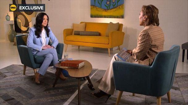 """PHOTO: Judge Esther Salas opens up in an exclusive interview with """"Good Morning America"""" co-anchor Robin Roberts. (ABC News)"""